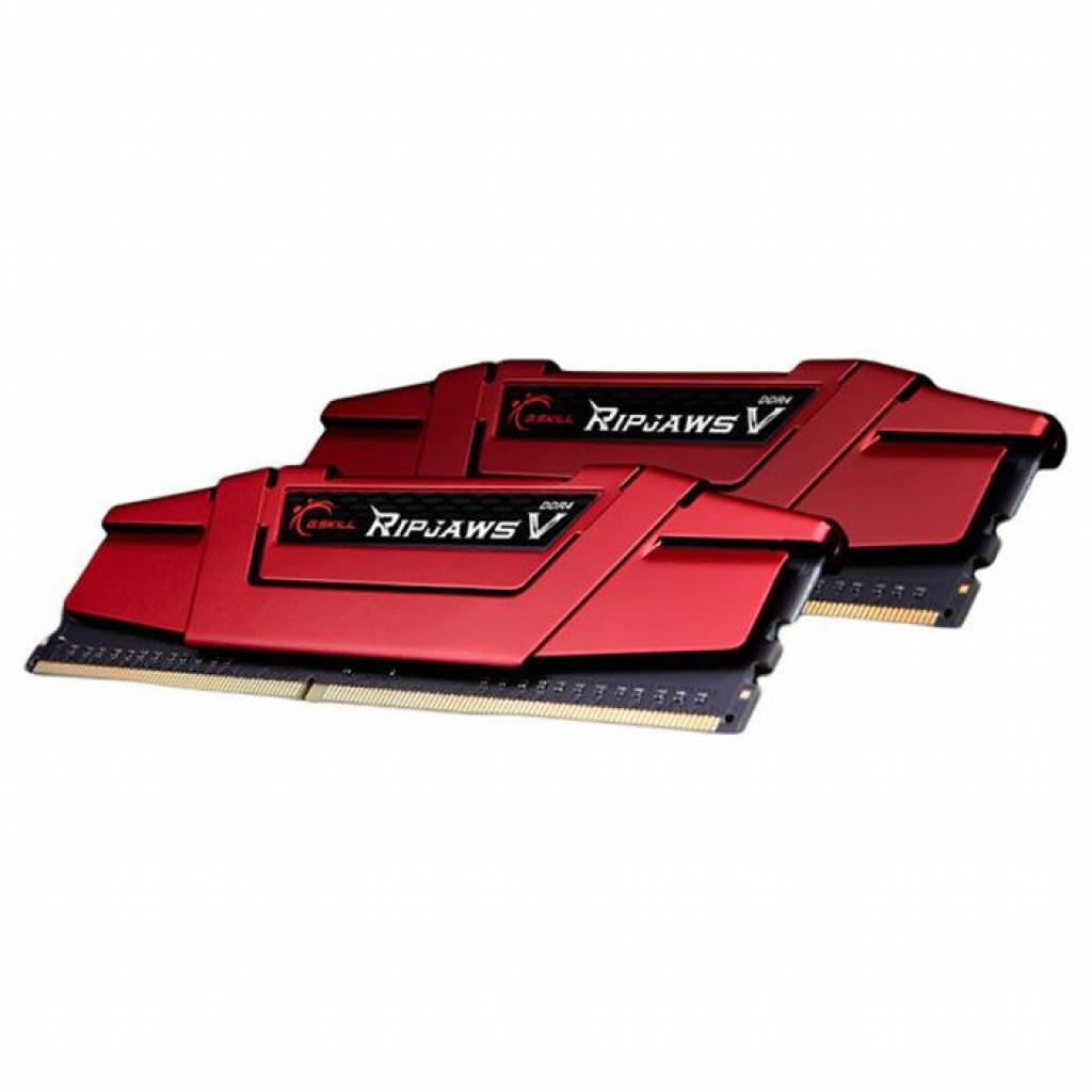 Модуль памяти для компьютера DDR4 16GB (2x8GB) 2400 MHz RipjawsV Red G.Skill (F4-2400C17D-16GVR) изображение 3