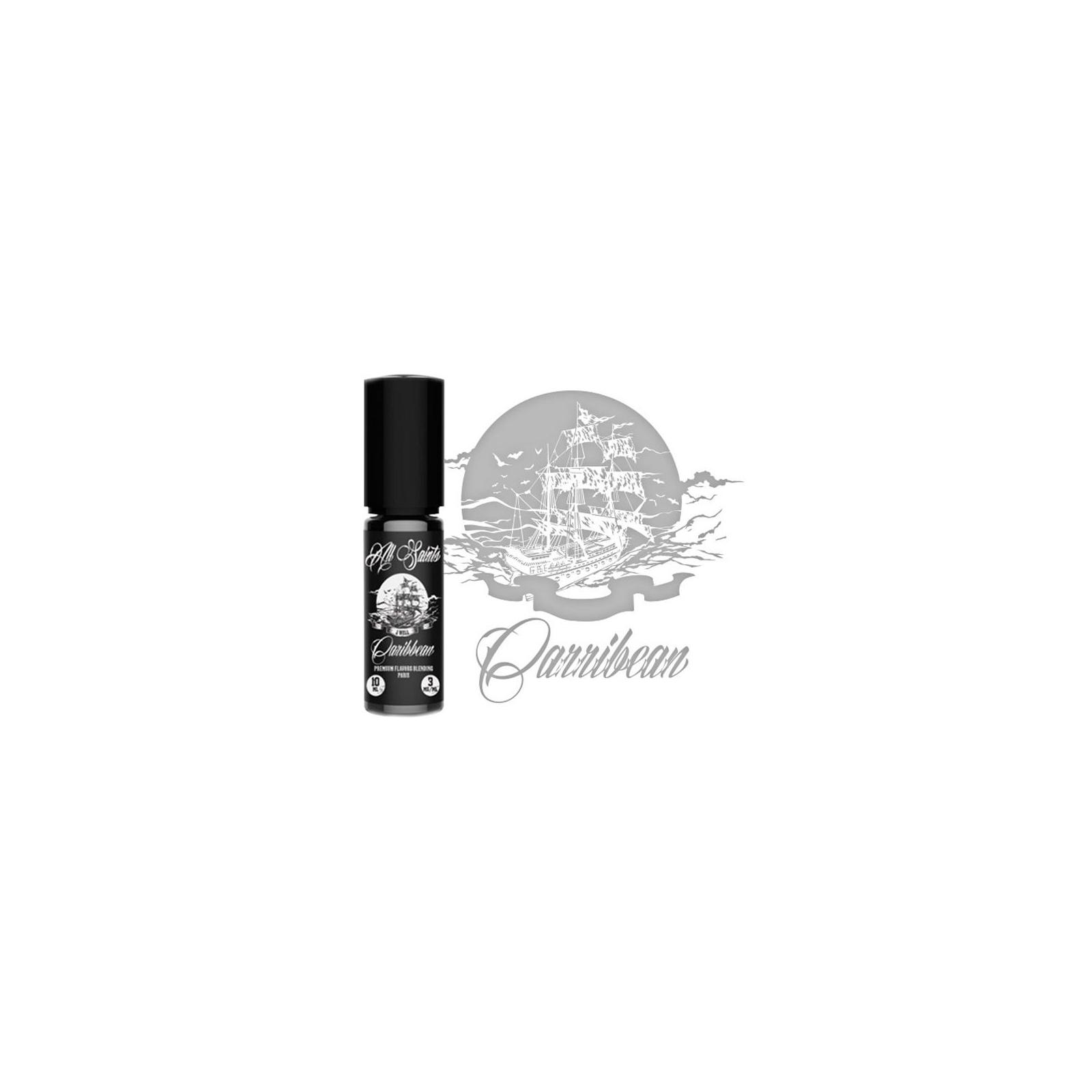 Жидкость для электронных сигарет Jwell CARIBBEAN 10 ml 3 mg (ALSCB1003) изображение 2