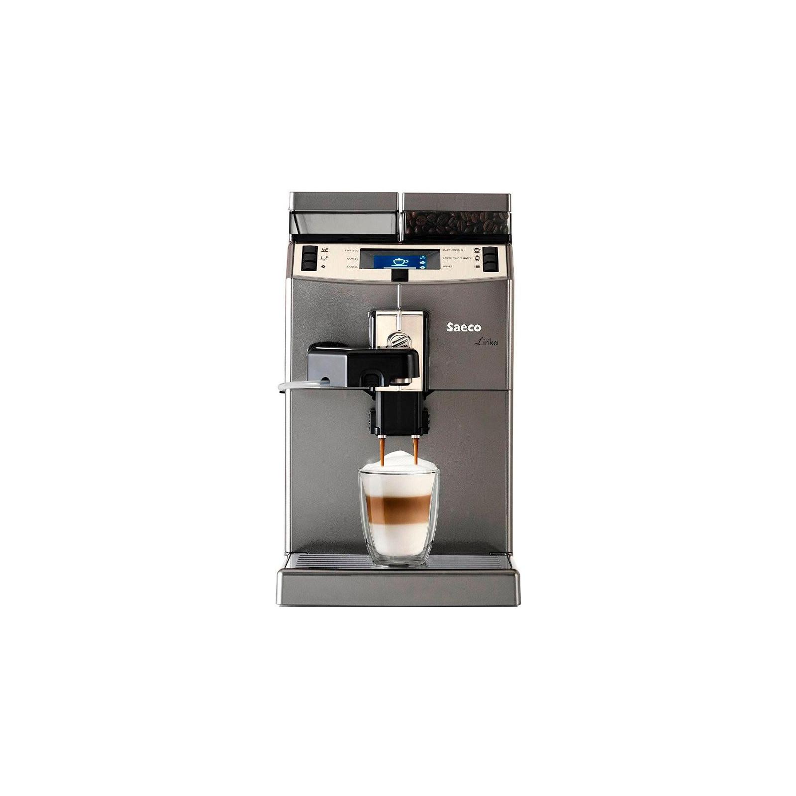 Кофеварка Saeco Lirika One Touch Cappuccino (RI9851/01) изображение 2