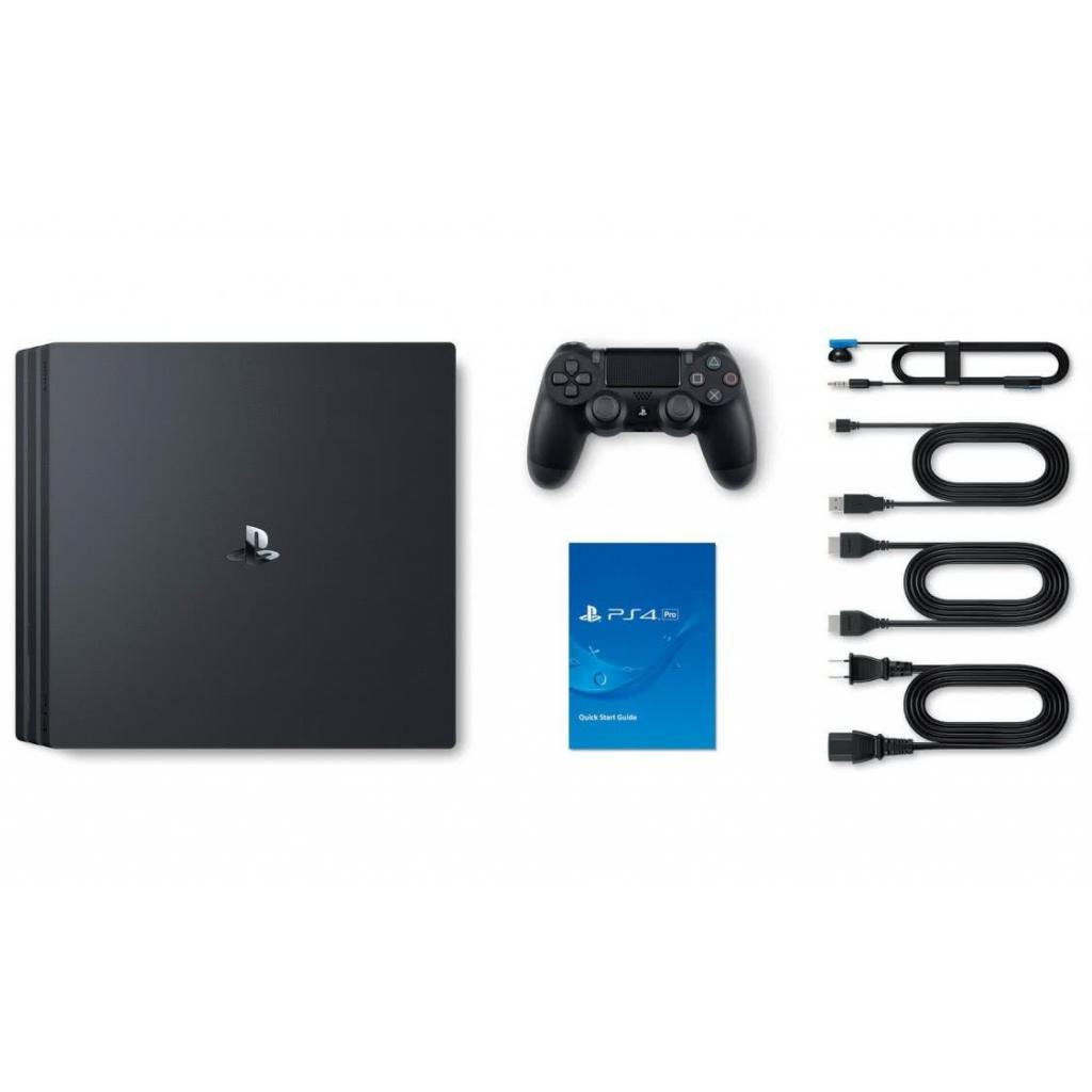 Игровая консоль SONY PlayStation 4 Pro 1Tb Black (9773412) изображение 9