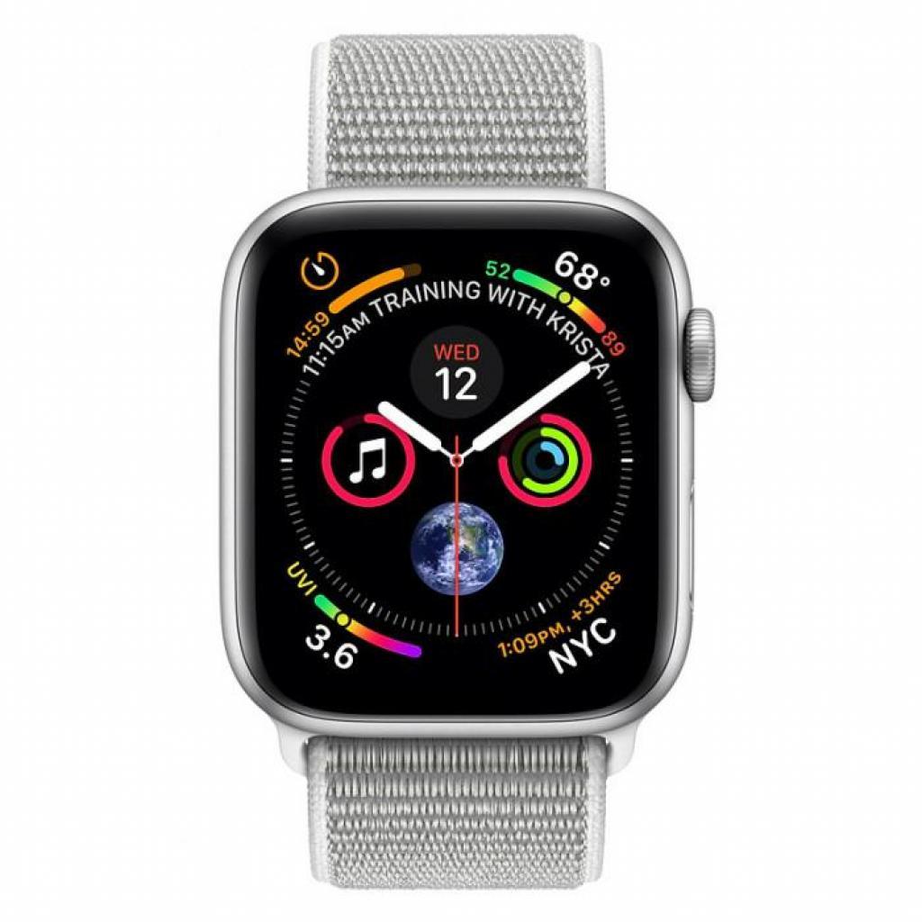 Смарт-часы Apple Watch Series 4 GPS, 40mm Silver Aluminium Case (MU652UA/A) изображение 2
