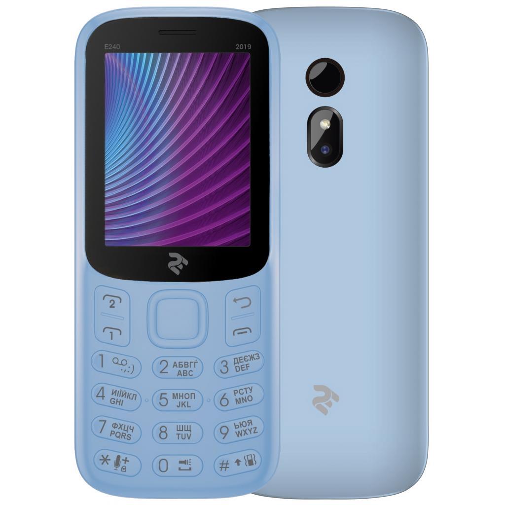 Мобільний телефон 2E E240 2019 Red (680576170019) зображення 3