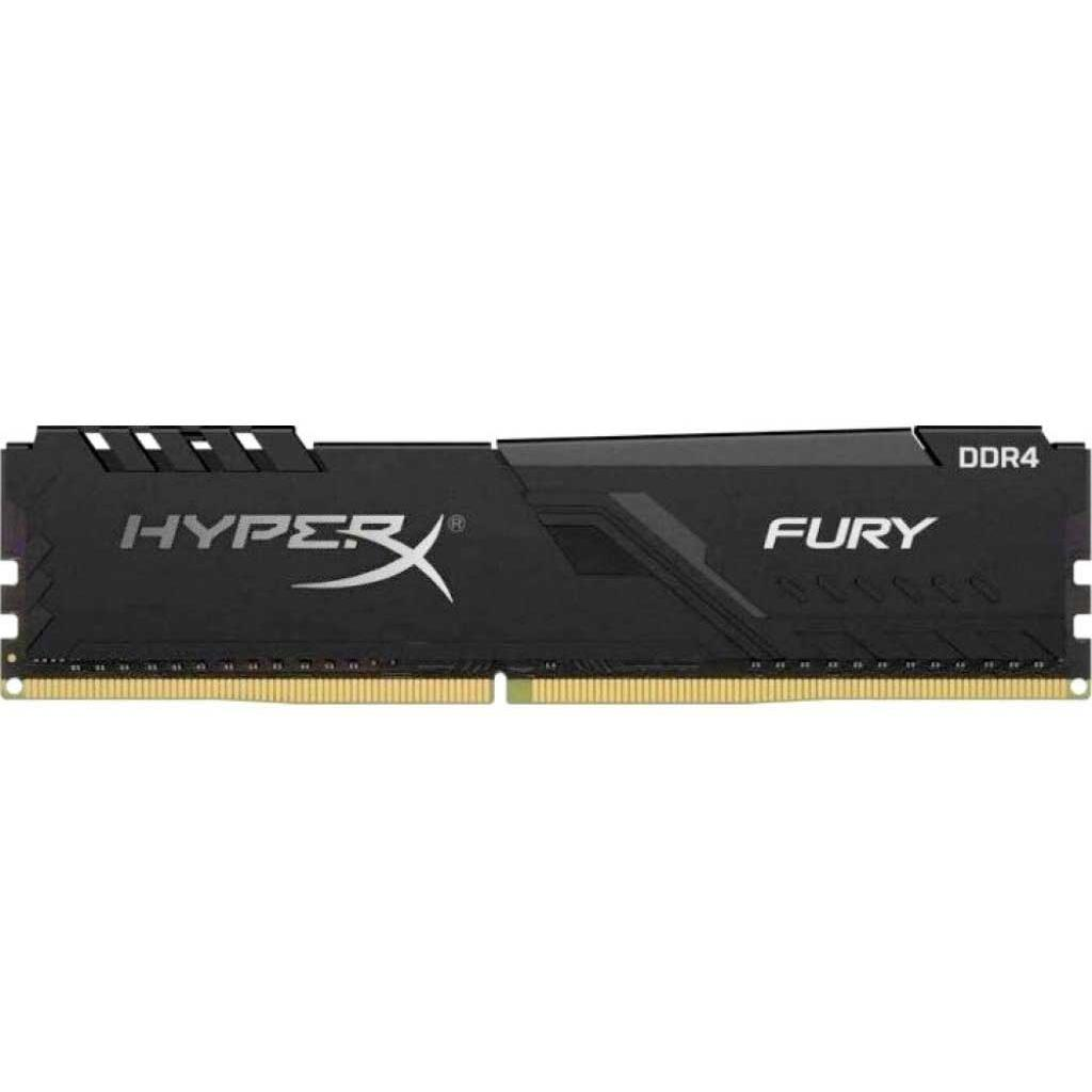 Модуль памяти для компьютера DDR4 16GB 2400 MHz HyperX FURY Black HyperX (Kingston Fury) (HX424C15FB3/16)