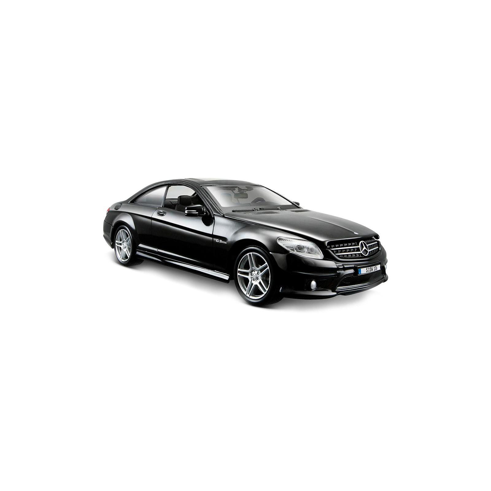 Машина Maisto Mercedes-Benz CL63 AMG (1:24) черный металлик (31297 met. black) изображение 4