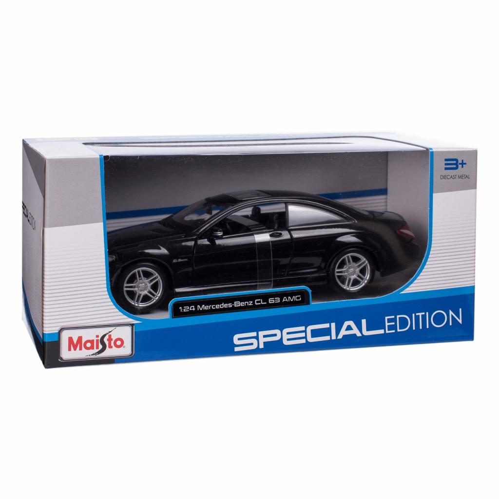 Машина Maisto Mercedes-Benz CL63 AMG (1:24) черный металлик (31297 met. black) изображение 5