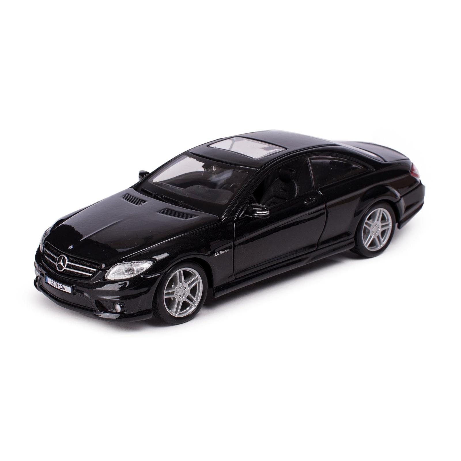 Машина Maisto Mercedes-Benz CL63 AMG (1:24) черный металлик (31297 met. black)
