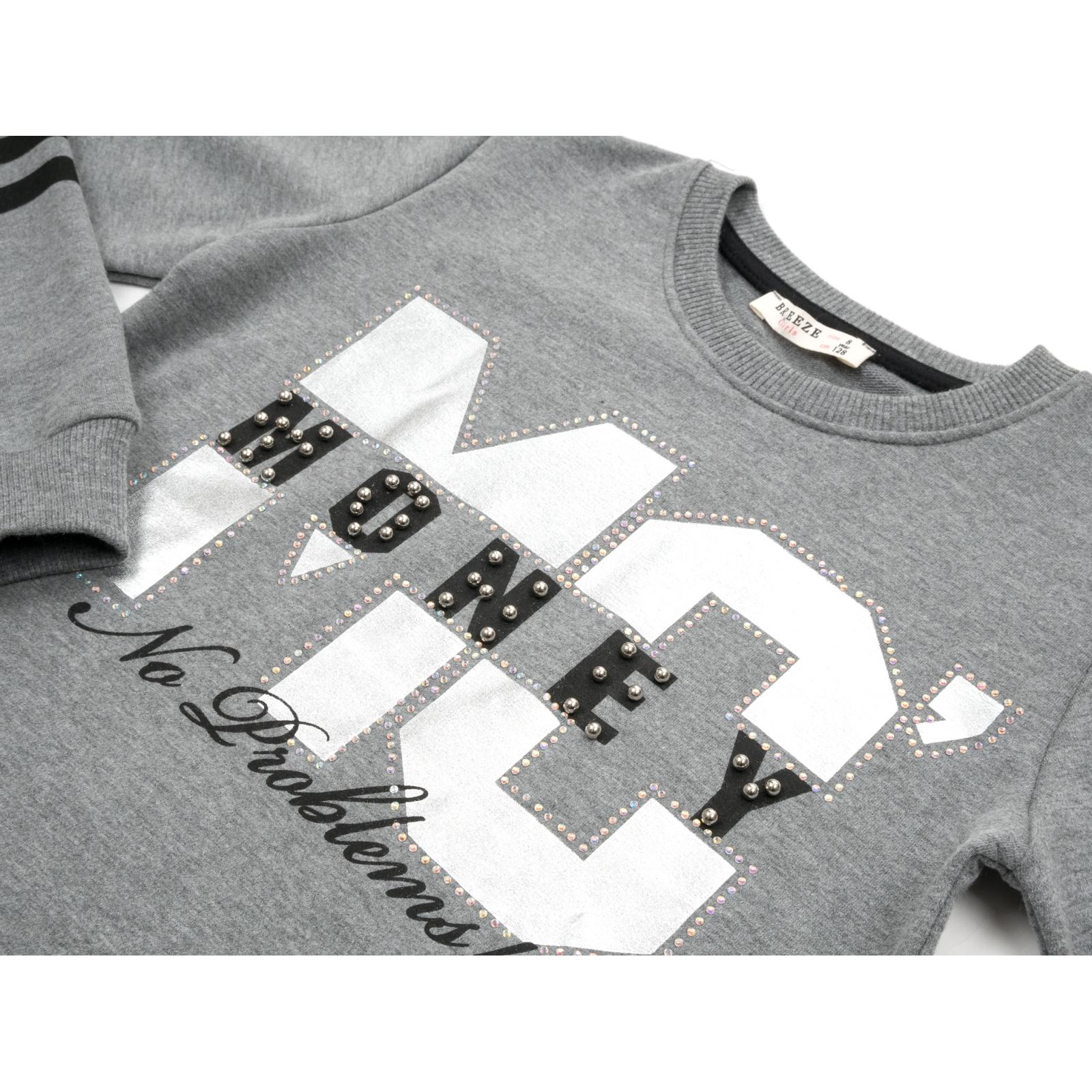 """Набор детской одежды Breeze """"NO PROBLEMS!"""" (13229-152G-gray) изображение 7"""