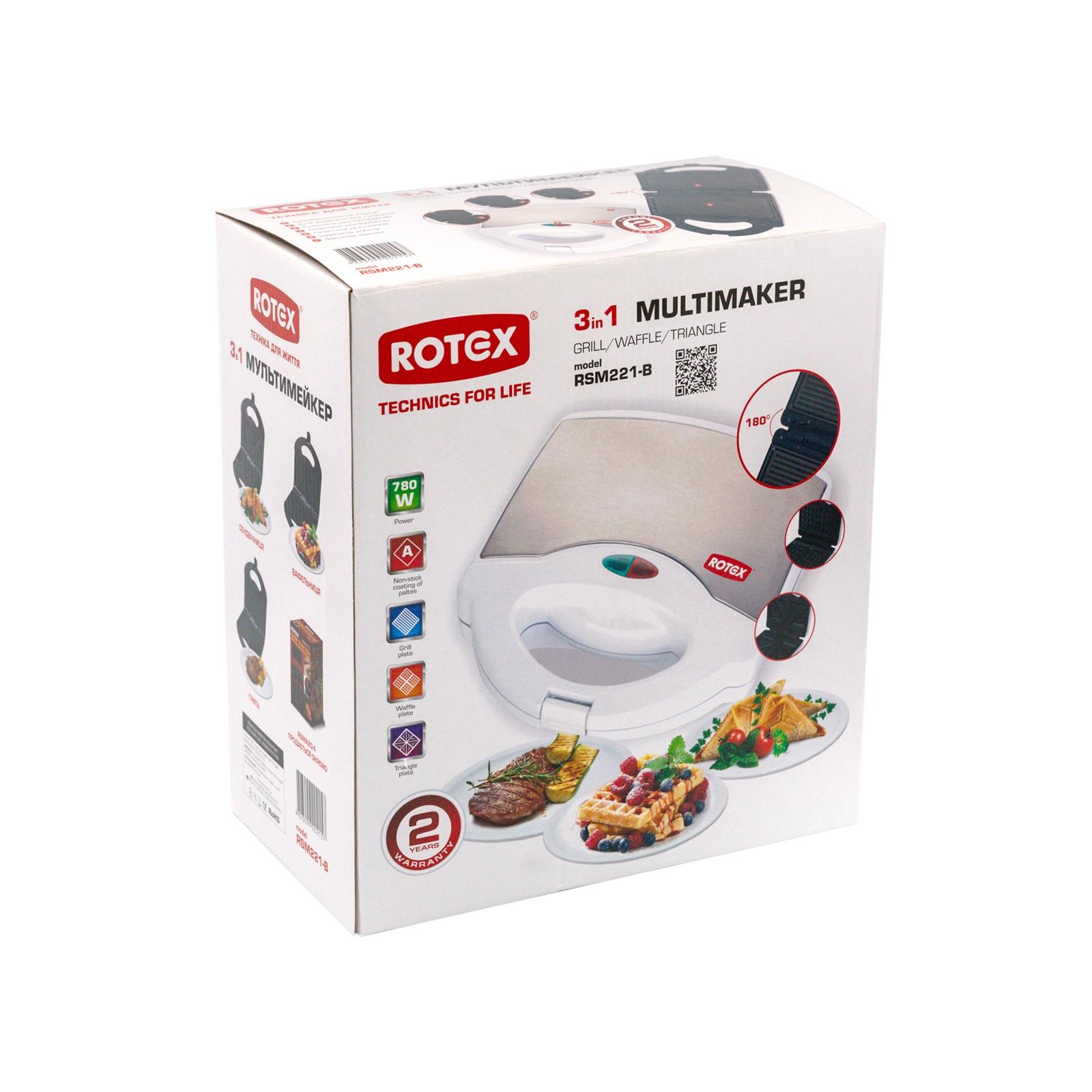 Сэндвичница Rotex RSM221-B изображение 9