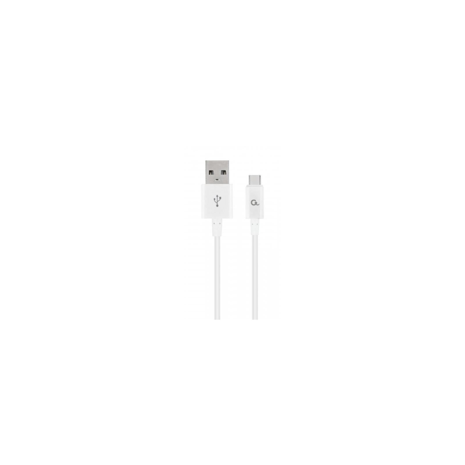 Дата кабель USB 2.0 AM to Type-C 1.0m Cablexpert (CC-USB2P-AMCM-1M-W)