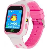 Смарт-часы ATRIX iQ2300 IPS Cam Flash Pink Детские телефон-часы с трекером (iQ2300 Pink)