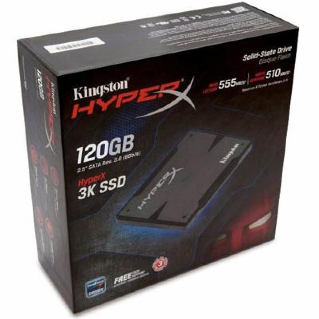 """Накопитель SSD 2.5"""" 120GB Kingston (SH100S3/120G) изображение 2"""