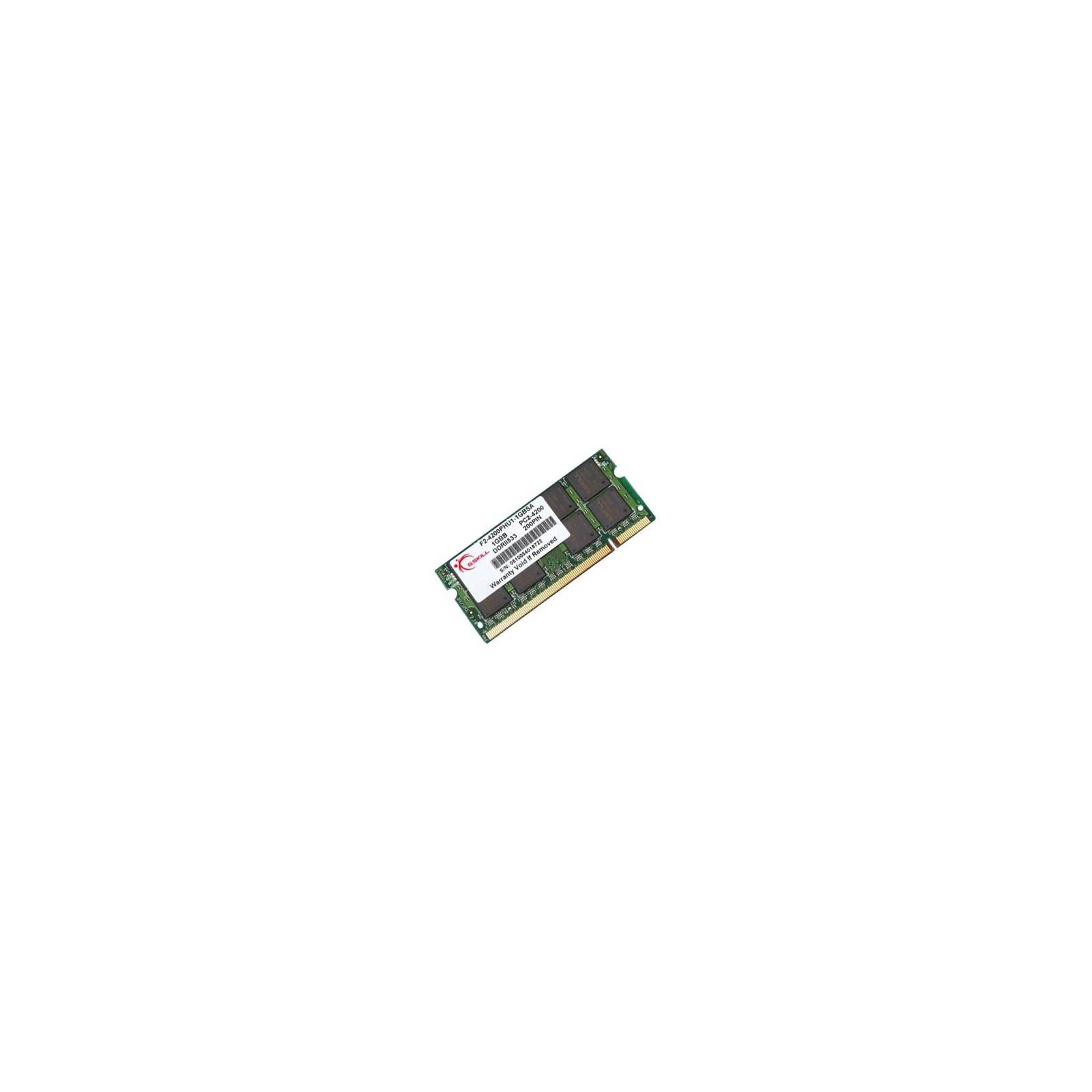 Модуль памяти для ноутбука SoDIMM DDR2 1GB 533 MHz G.Skill (F2-4200PHU1-1GBSA)