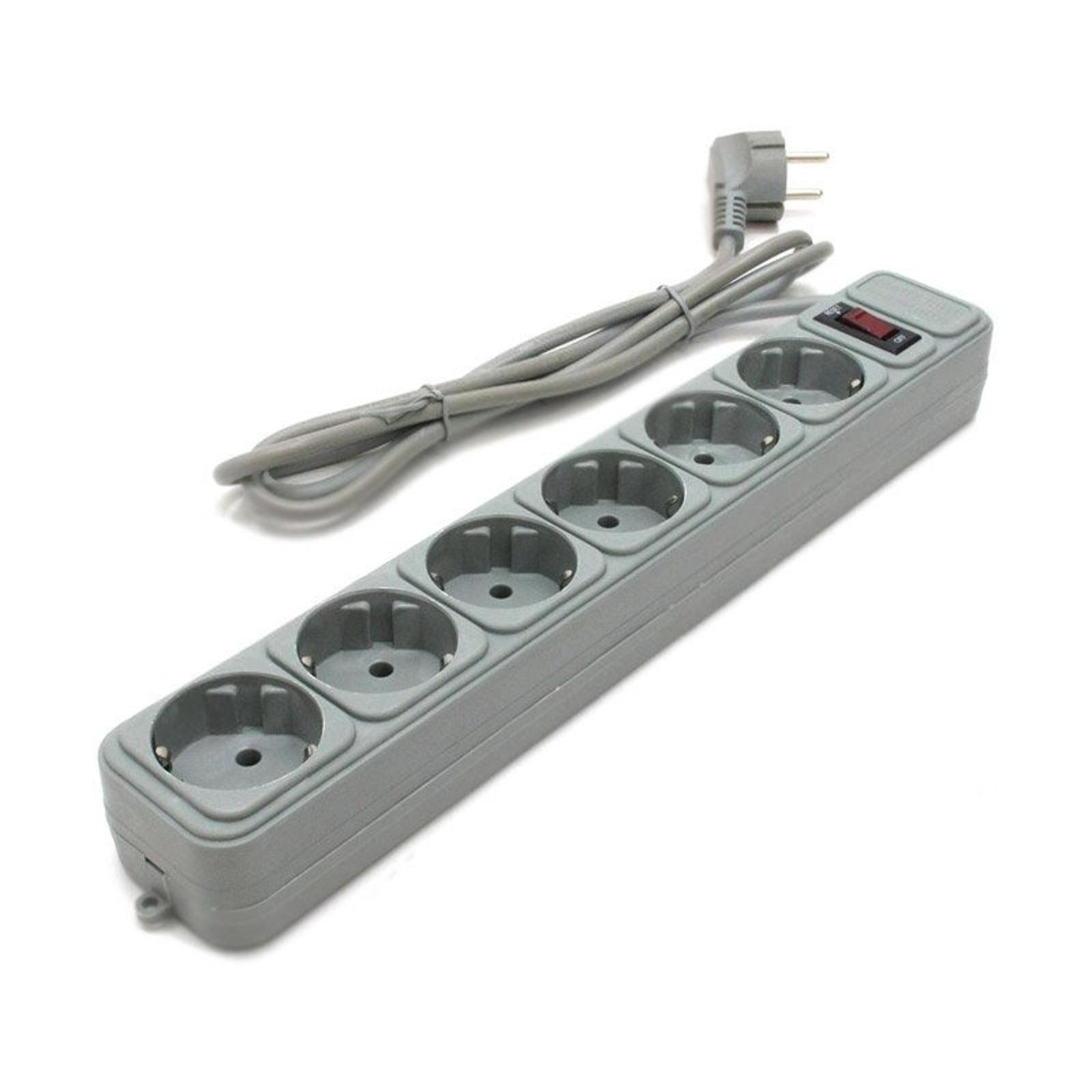 Сетевой фильтр питания SPG6-B-15 GEMBIRD (SPG6-B-15 PP/ SPG6-PC-15)
