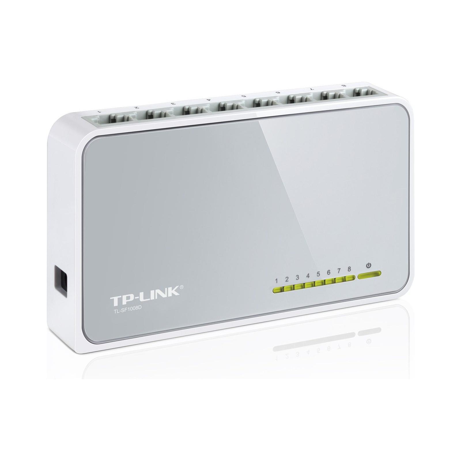 Коммутатор сетевой TP-Link TL-SF1008D изображение 2