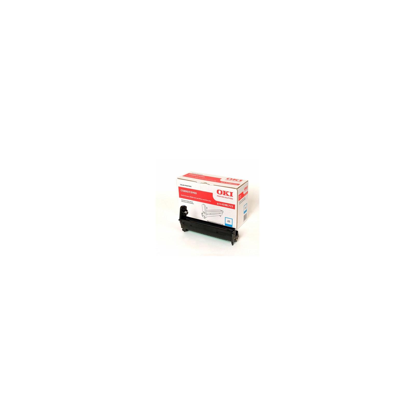 Фотокондуктор OKI C5800/5900/C5550 cyan (43381723)