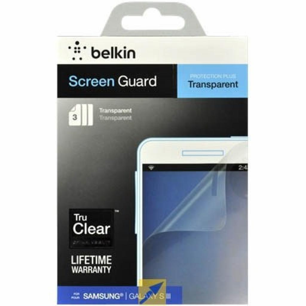 Пленка защитная Belkin Screen Overlay MATTE (F8N847cw3)