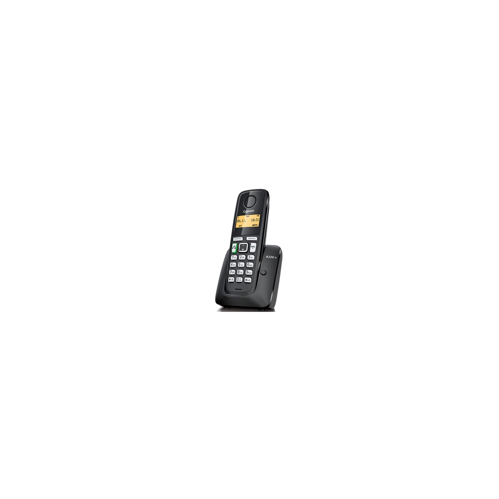 Телефон DECT Gigaset A220A Black (S30852H2431S301)