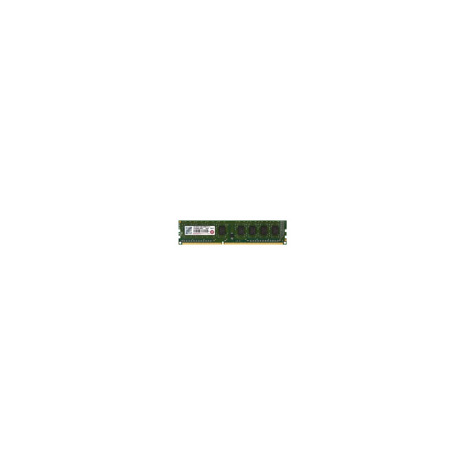 Модуль памяти для компьютера DDR3 2GB 1600 MHz Transcend (JM1600KLN-2G)
