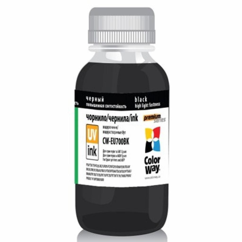 Чернила ColorWay Epson UV P50/PX700 Black (EU700Bk01)