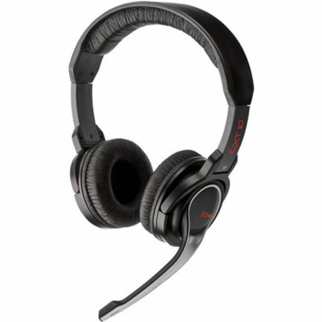 Наушники Trust GXT- 10 Gamer Headset (16450)