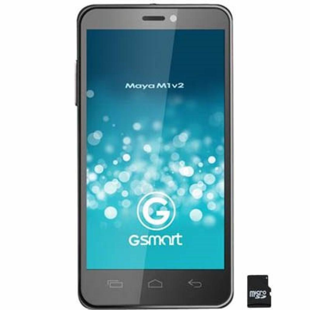 Мобильный телефон GIGABYTE GSmart Maya M1 v2 Quad Grey (4712364754814)