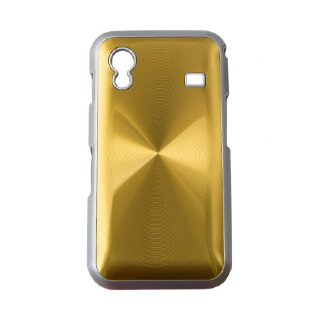 Чехол для моб. телефона Drobak для Samsung S5830 Galaxy Ace /Aluminium Panel/Gold (215231)