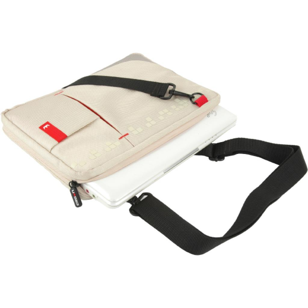 Сумка для ноутбука Crown 10.2 Genuine Sling Bag/white (SBG4410W) изображение 2