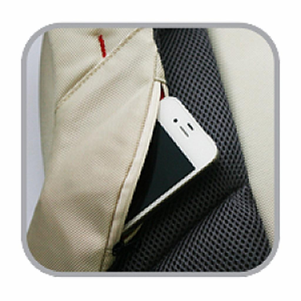 Сумка для ноутбука Crown 10.2 Genuine Sling Bag/white (SBG4410W) изображение 3