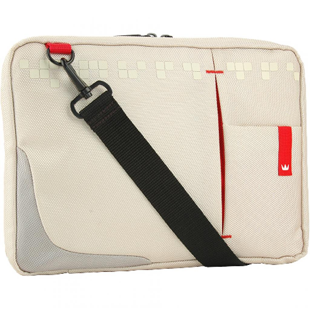 Сумка для ноутбука Crown 10.2 Genuine Sling Bag/white (SBG4410W)