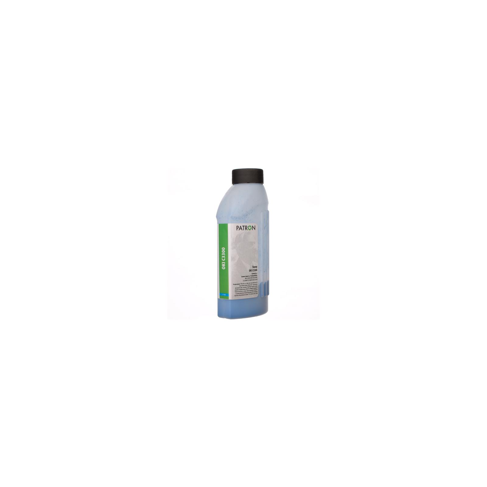 Тонер PATRON OKI C3300 CYAN 50г (T-PN-OC3300-C-050)