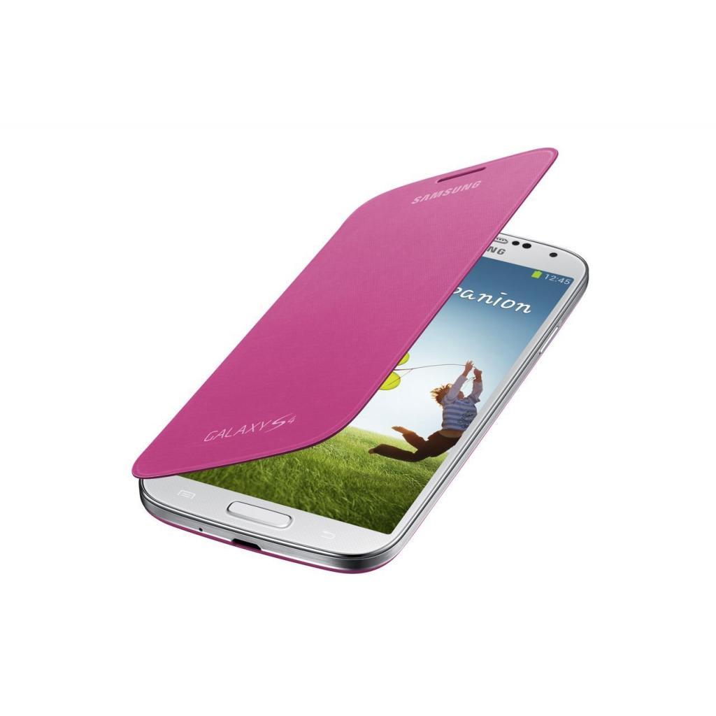 Чехол для моб. телефона Samsung I9500 Galaxy S4/Pink/Flip Cover (EF-FI950BPEGWW) изображение 2
