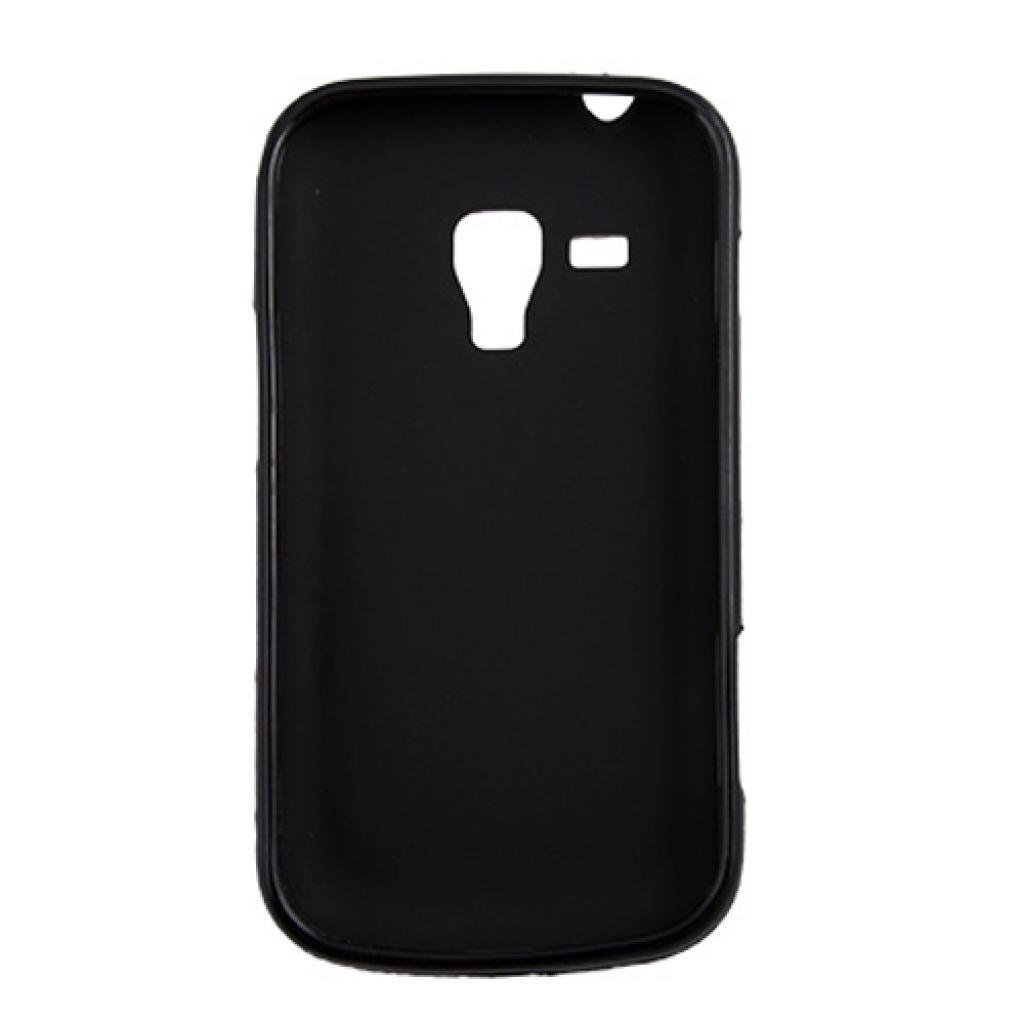 Чехол для моб. телефона Drobak для Samsung S7562 Galaxy S Duos/ElasticPU/Black (212191) изображение 2