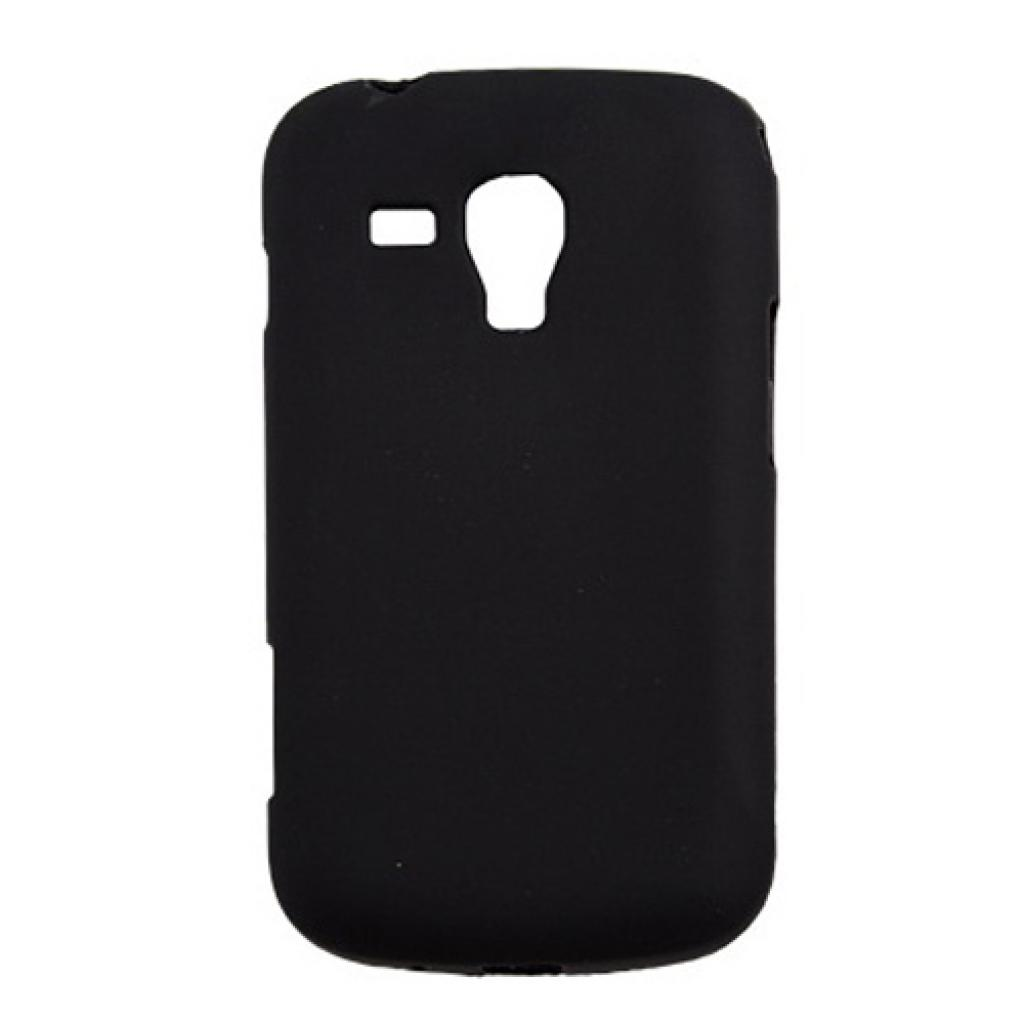 Чехол для моб. телефона Drobak для Samsung S7562 Galaxy S Duos/ElasticPU/Black (212191)