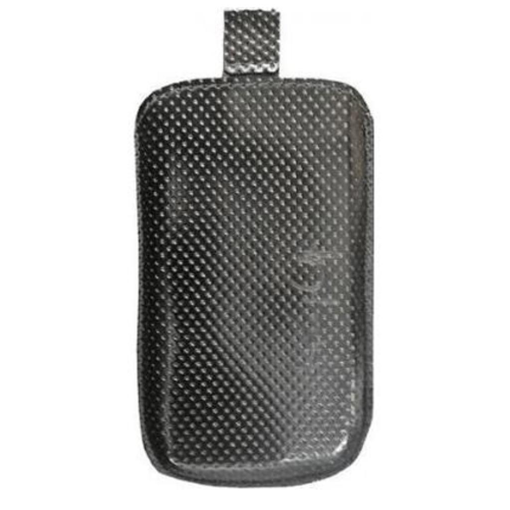 Чехол для моб. телефона KeepUp для LG GX500 Black lak /pouch/perforation (0000004231)