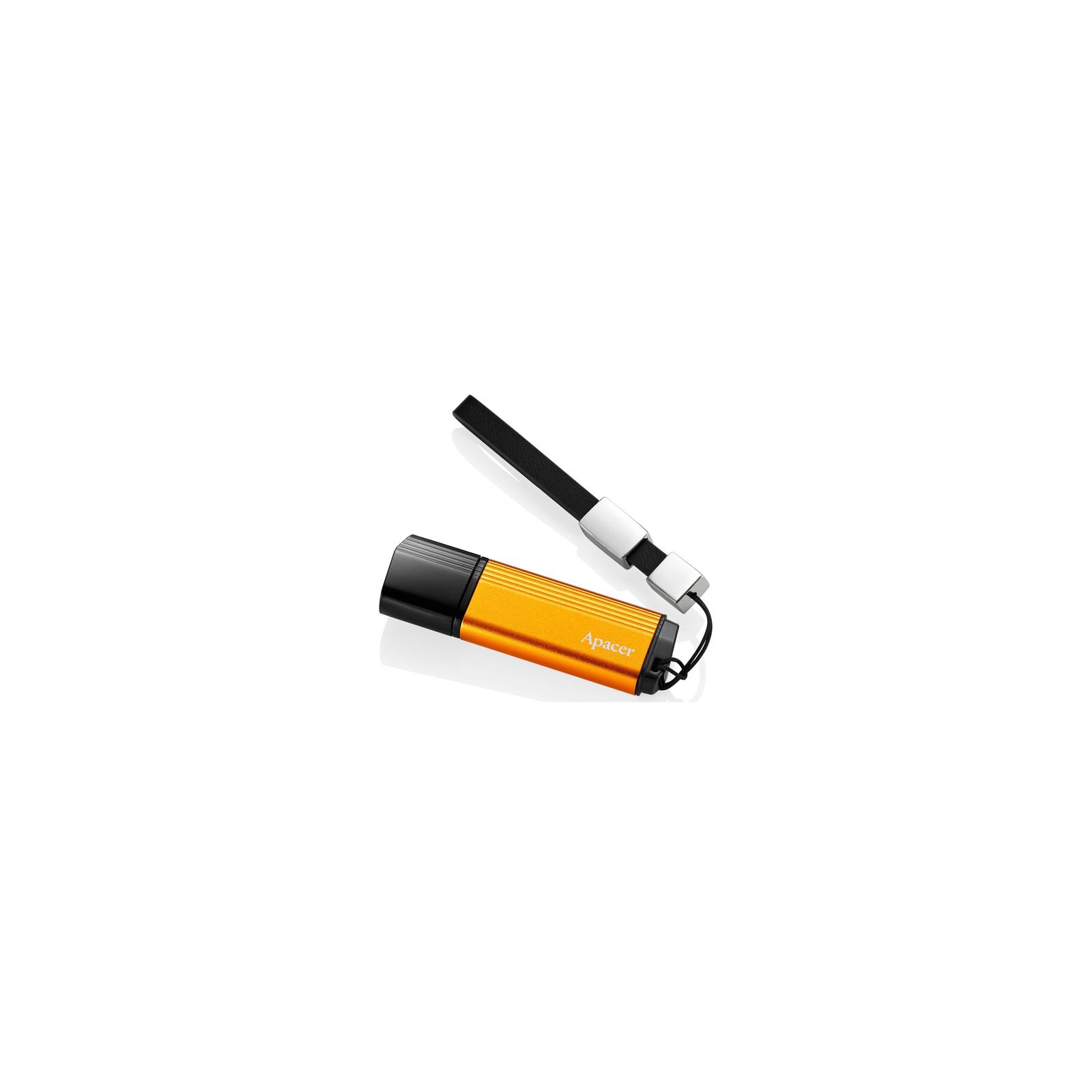 USB флеш накопитель 8GB AH330 Fiery orange RP USB2.0 Apacer (AP8GAH330T-1) изображение 3