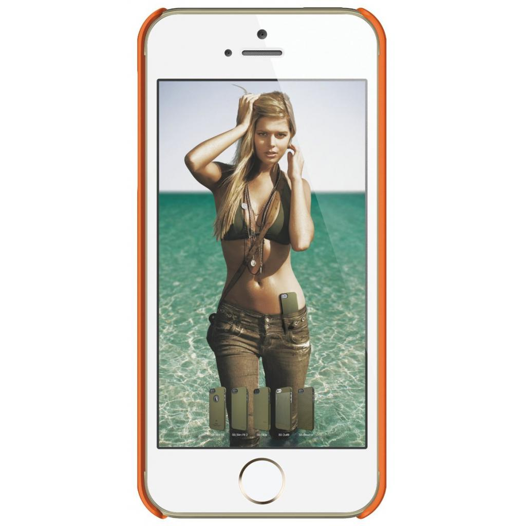 Чехол для моб. телефона ELAGO для iPhone 5 /Slim Fit Soft/Orange (ELS5SM-SFOR-RT) изображение 2