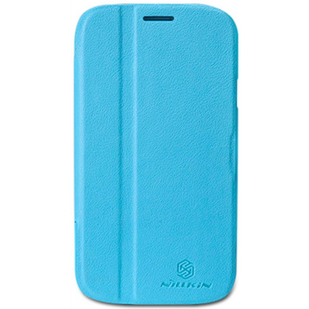 Чехол для моб. телефона NILLKIN для Samsung I9082 /Fresh/ Leather/Blue (6065844)