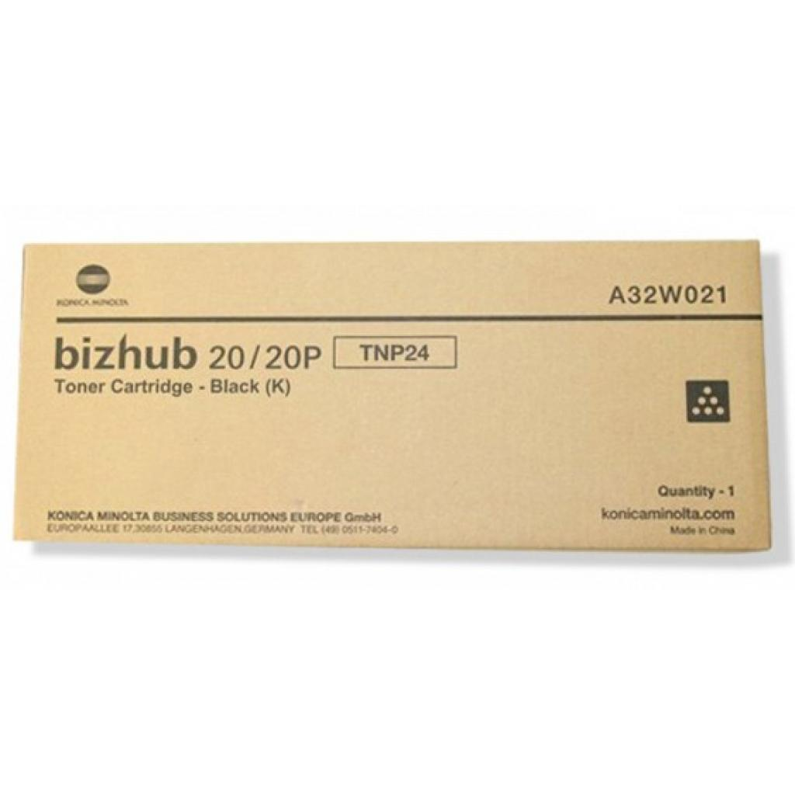 Тонер KONICA MINOLTA TNP-24 для bizhub 20/20Р (A32W021)