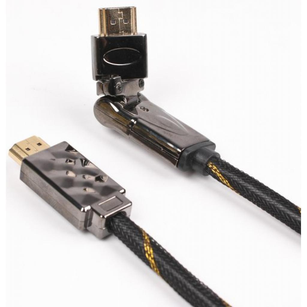 Кабель мультимедийный HDMI to HDMI 2.0m Viewcon (VD 516-2m.)