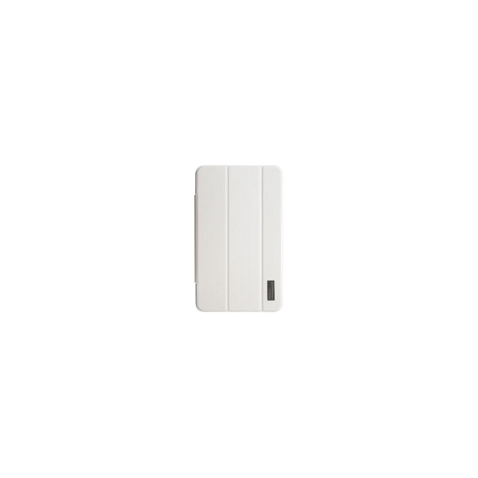 Чехол для планшета Rock Samsung Galaxy Tab 4 7.0 New elegant series white (Tab 4 7.0-65394)