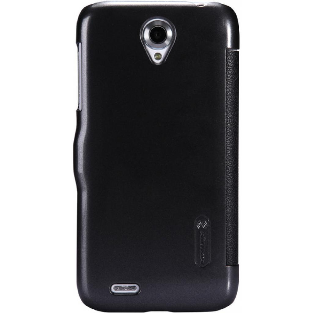 Чехол для моб. телефона NILLKIN для Lenovo A859 /Fresh/ Leather/Black (6164321) изображение 4