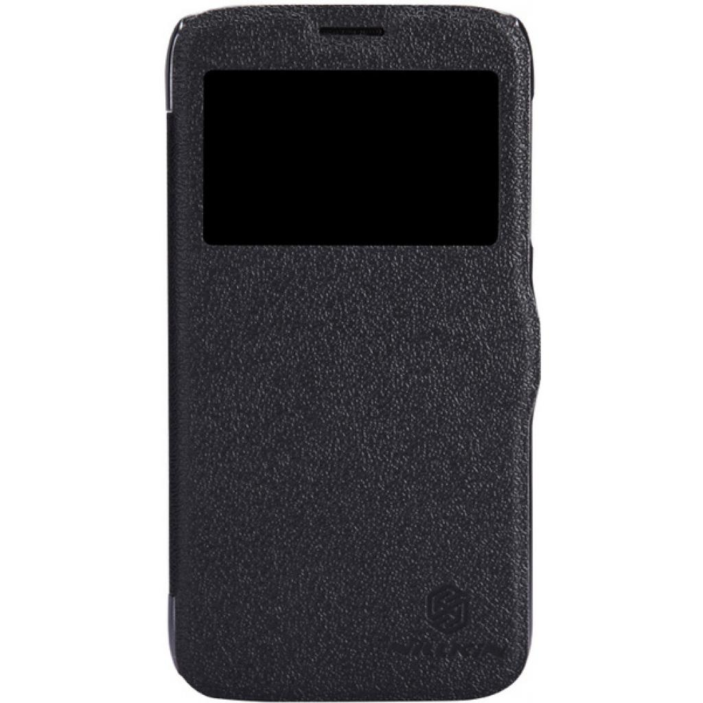 Чехол для моб. телефона NILLKIN для Lenovo A859 /Fresh/ Leather/Black (6164321)