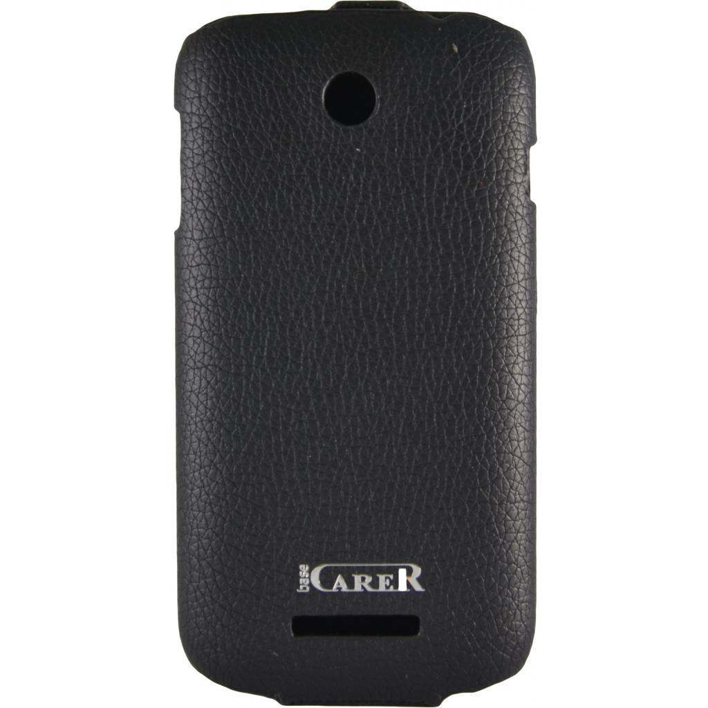 Чехол для моб. телефона Carer Base Lenovo A760 black grid (Carer Base lenovoA760b gr) изображение 2
