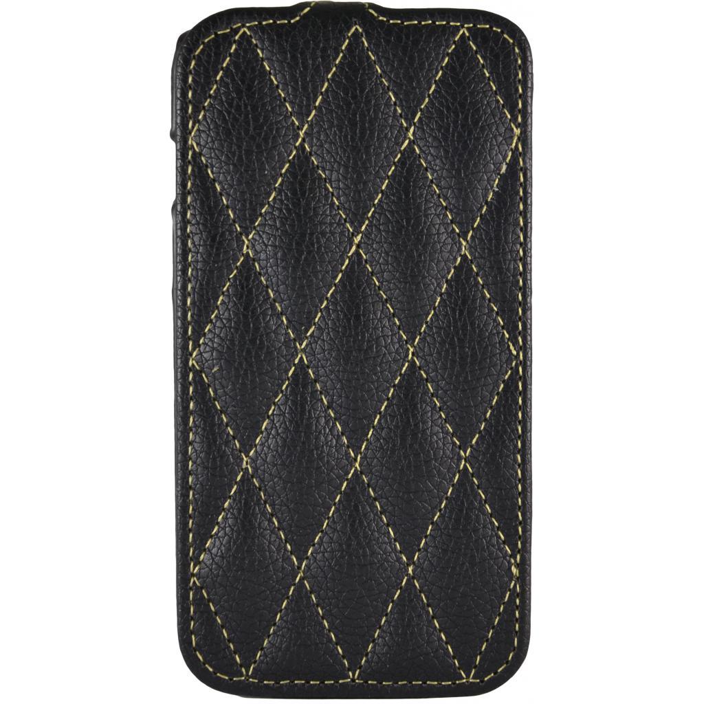 Чехол для моб. телефона Carer Base Lenovo A760 black grid (Carer Base lenovoA760b gr)