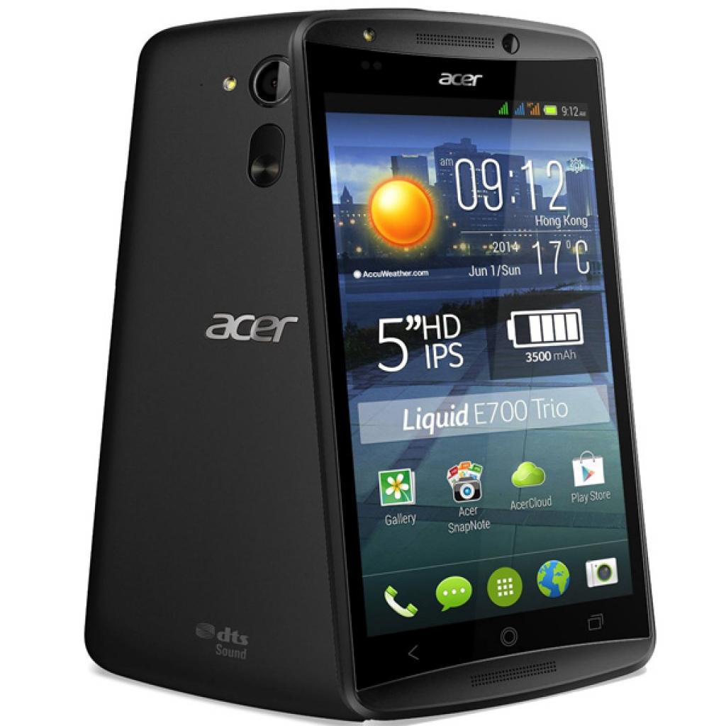 Мобильный телефон Acer Liquid E700 Triple SIM E39 Black (HM.HF9EE.003)