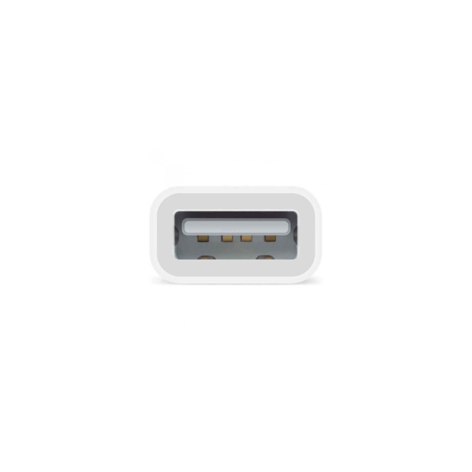 Переходник Apple Lightning to USB Camera для iPad (MD821ZM/A) изображение 2