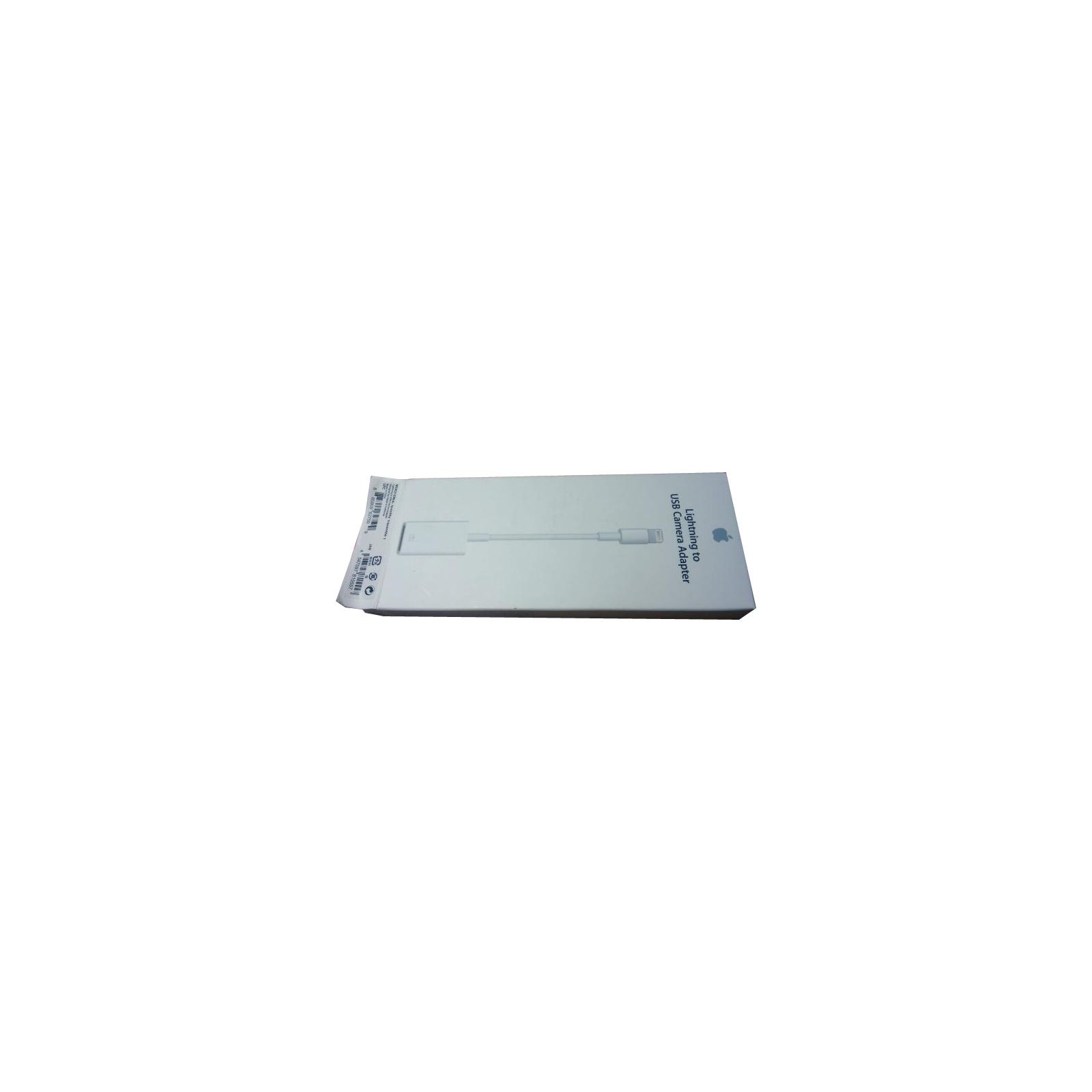 Переходник Apple Lightning to USB Camera для iPad (MD821ZM/A) изображение 5