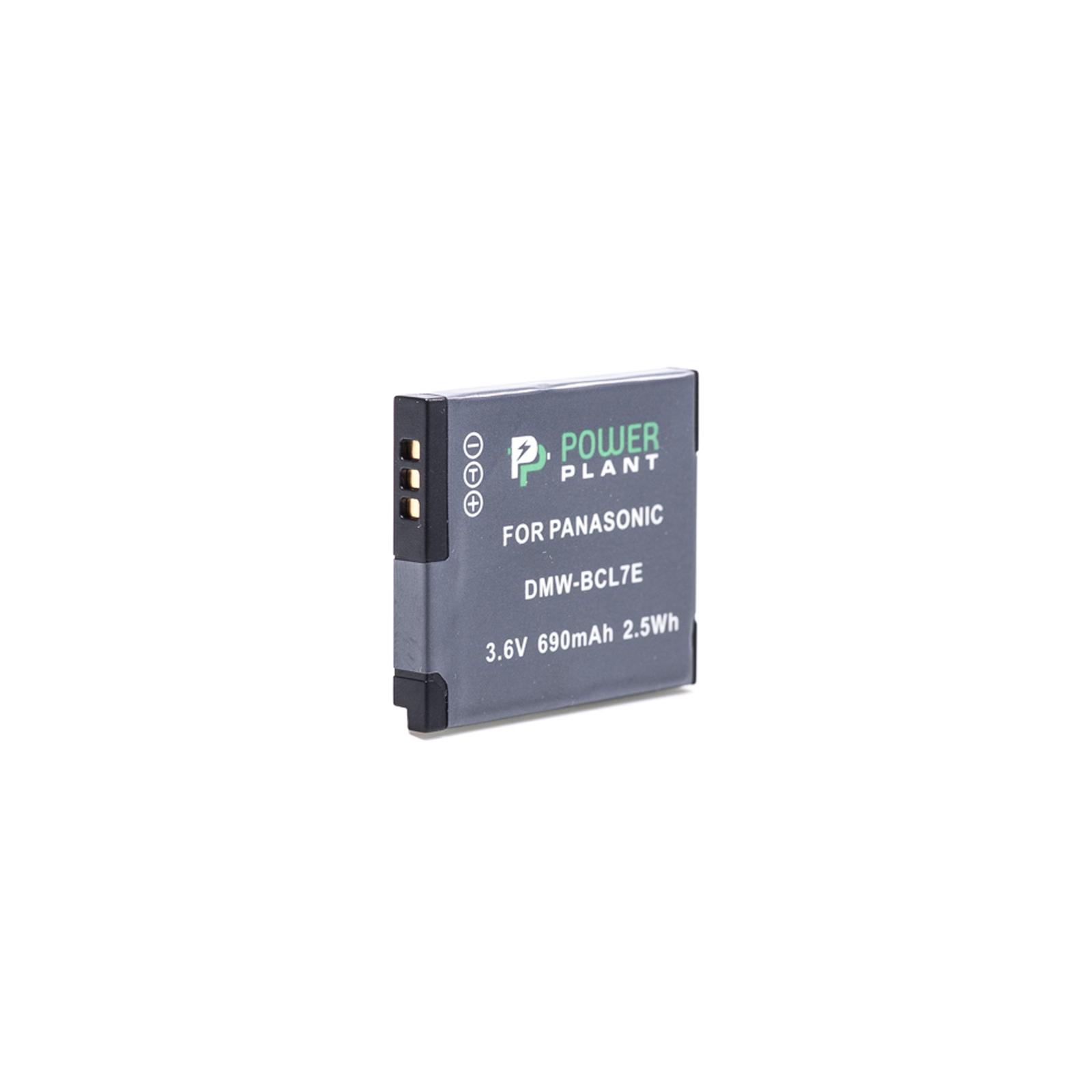 Аккумулятор к фото/видео PowerPlant Panasonic DMW-BCL7E (DV00DV1380) изображение 2