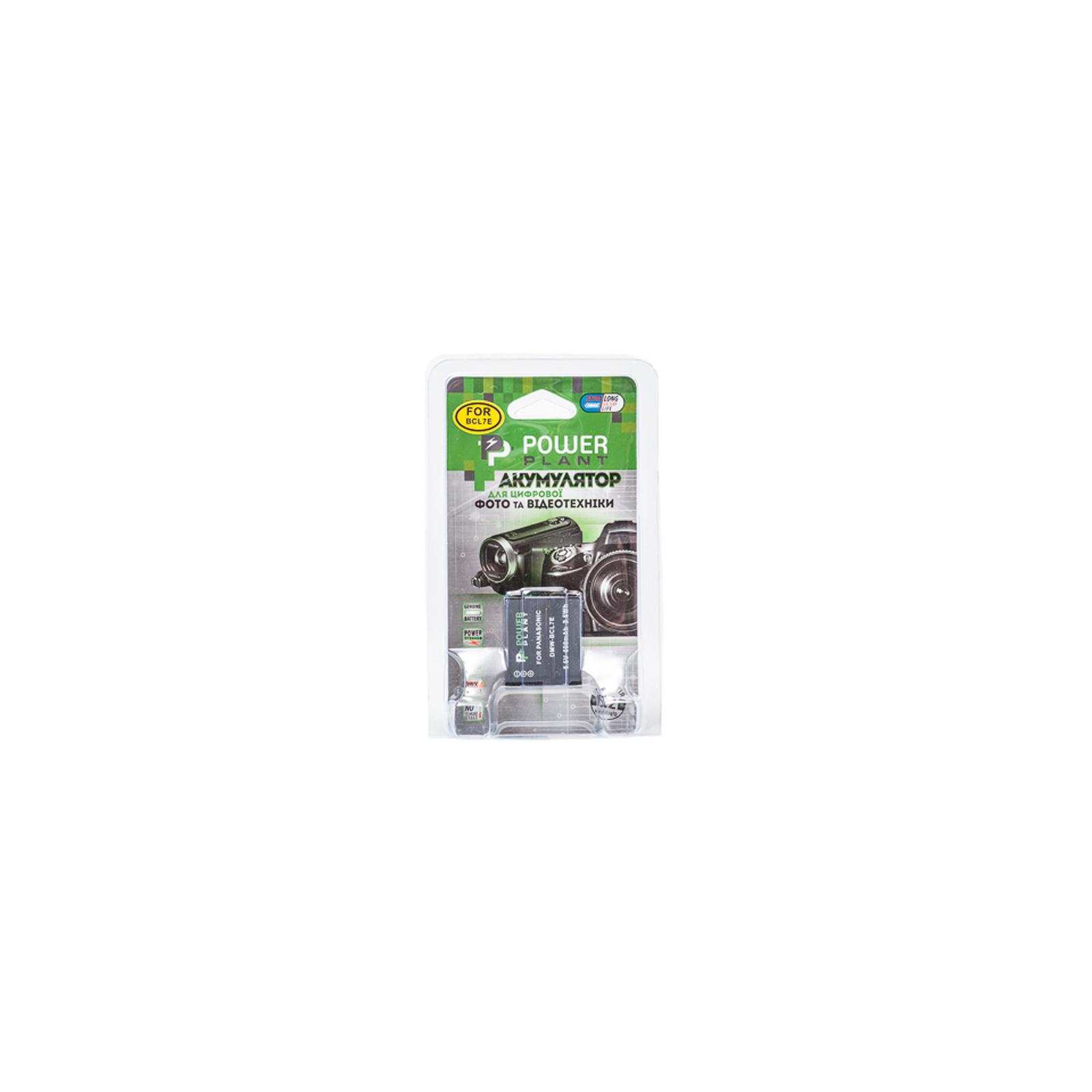 Аккумулятор к фото/видео PowerPlant Panasonic DMW-BCL7E (DV00DV1380) изображение 3
