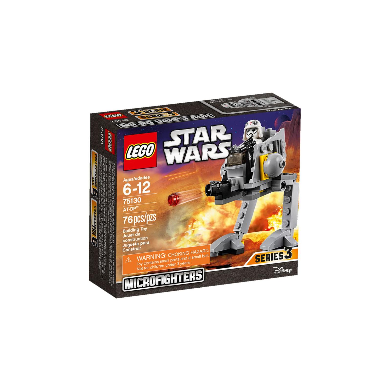 Конструктор LEGO Star Wars Вездеходная оборонительная платформа AT-DP (75130)